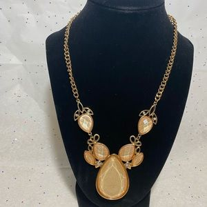 Stony Gold Necklace